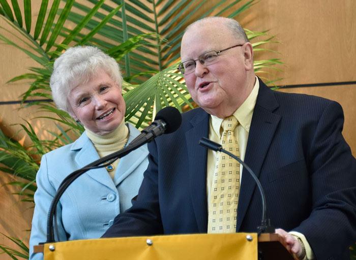 Gary and Pamela Williams