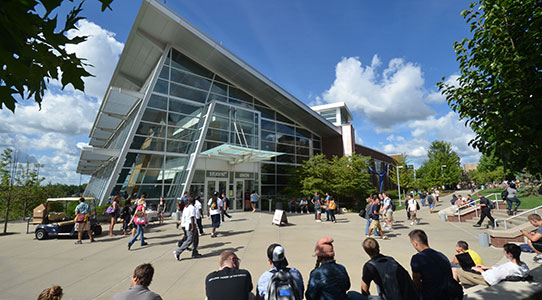 The Student Union at The University of Akron