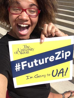 Apply today to The University of Akron