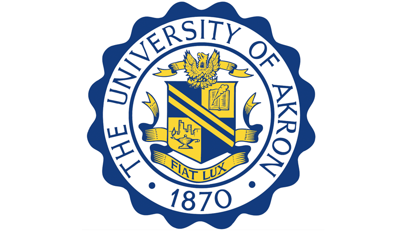 The University of Akron seal