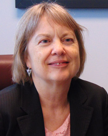 Linda Subich, Interim Dean for the College of Arts and Sciences at The University of Akron.