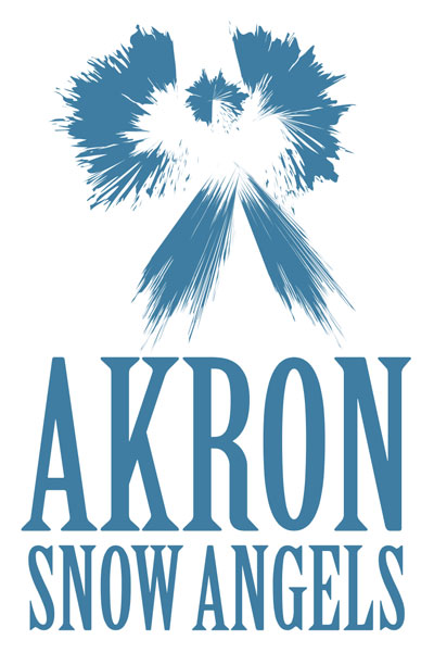 Akron Snow Angels is a nonprofit organization whose mission is to help keep the homeless warm during the cold winter months.