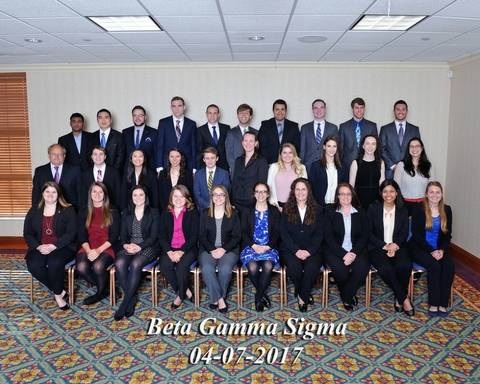 Beta Gamma Sigma Kappa of Ohio Chapter recognized as Highest Honors Chapter