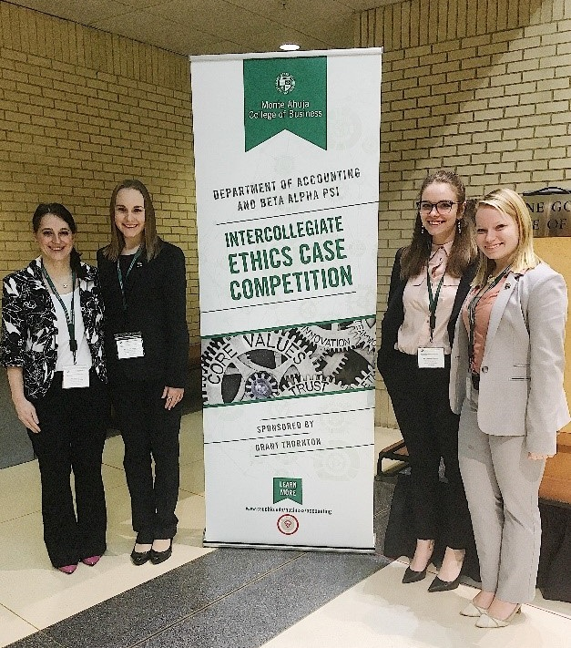 Accounting Students Place Well in Spring Competitions