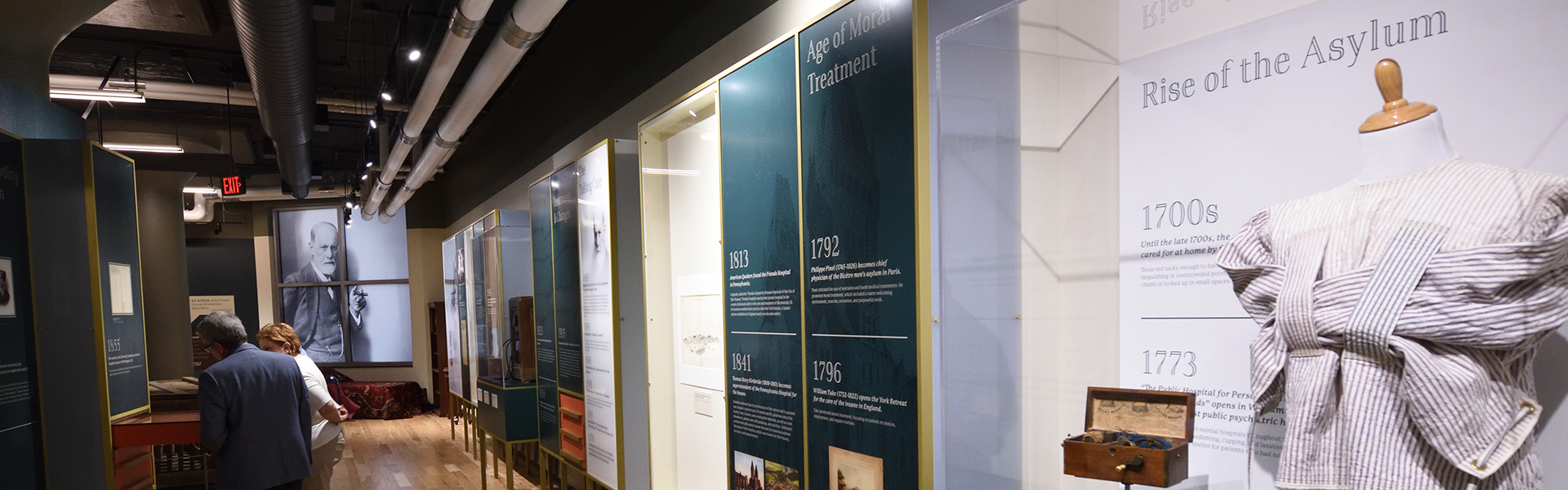 An exhibit at The National Museum of Psychology at The University of Akron