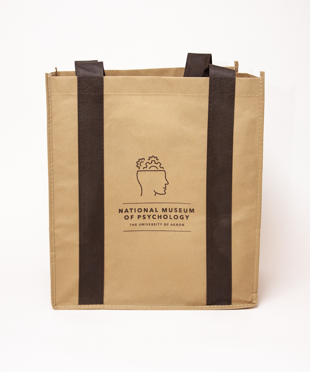 Tote Bag featuring National Museum of Psychology logo