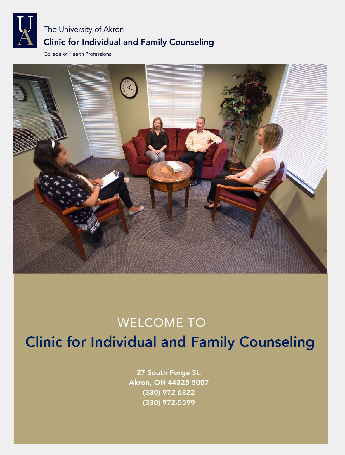 Clinic for Individual and Family Counseling: Home page : The
