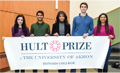 Team of social entrepreneurs to travel globe to compete for Hult Prize