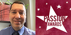 Econ Instructor Recognized at Passion Awards 2019