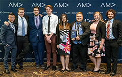 Marketing Student Chapter Wins in Two Categories at International Competition
