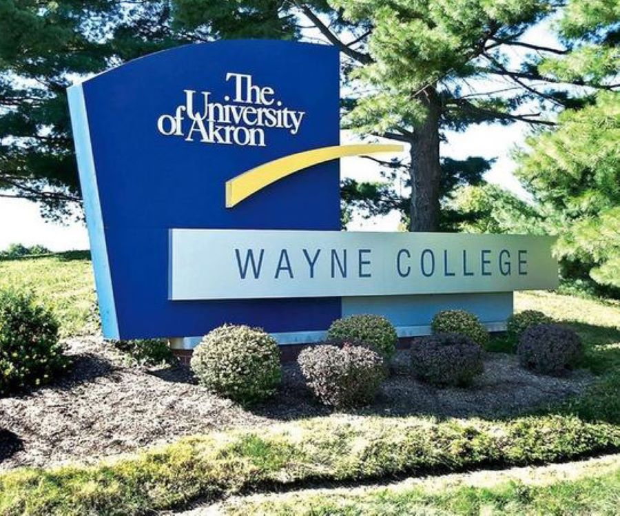sign for Wayne College