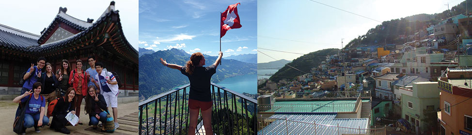 Akron students participating in study abroad opportunities around the world
