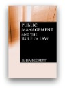 Public Management and the Rule of Law Book Cover
