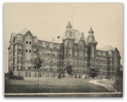 Buchtel College in 1889