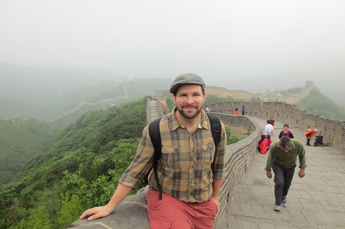 Ben Nypaver in China