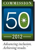 Commission 50 Award Logo