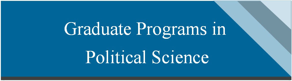 Graduate Programs in Political Science