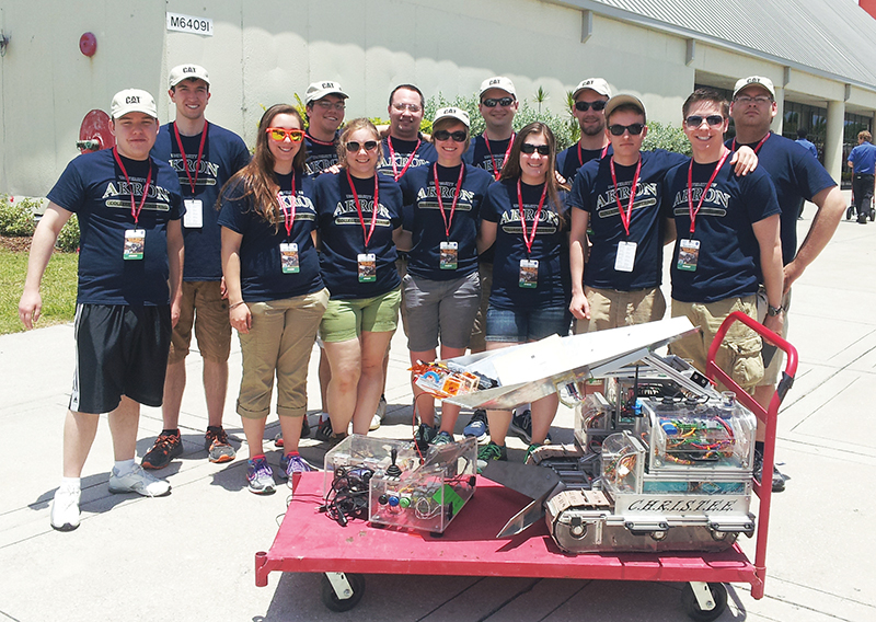 Ua Robotics Team Finishes Second In Lunar Mining Competition Ua News