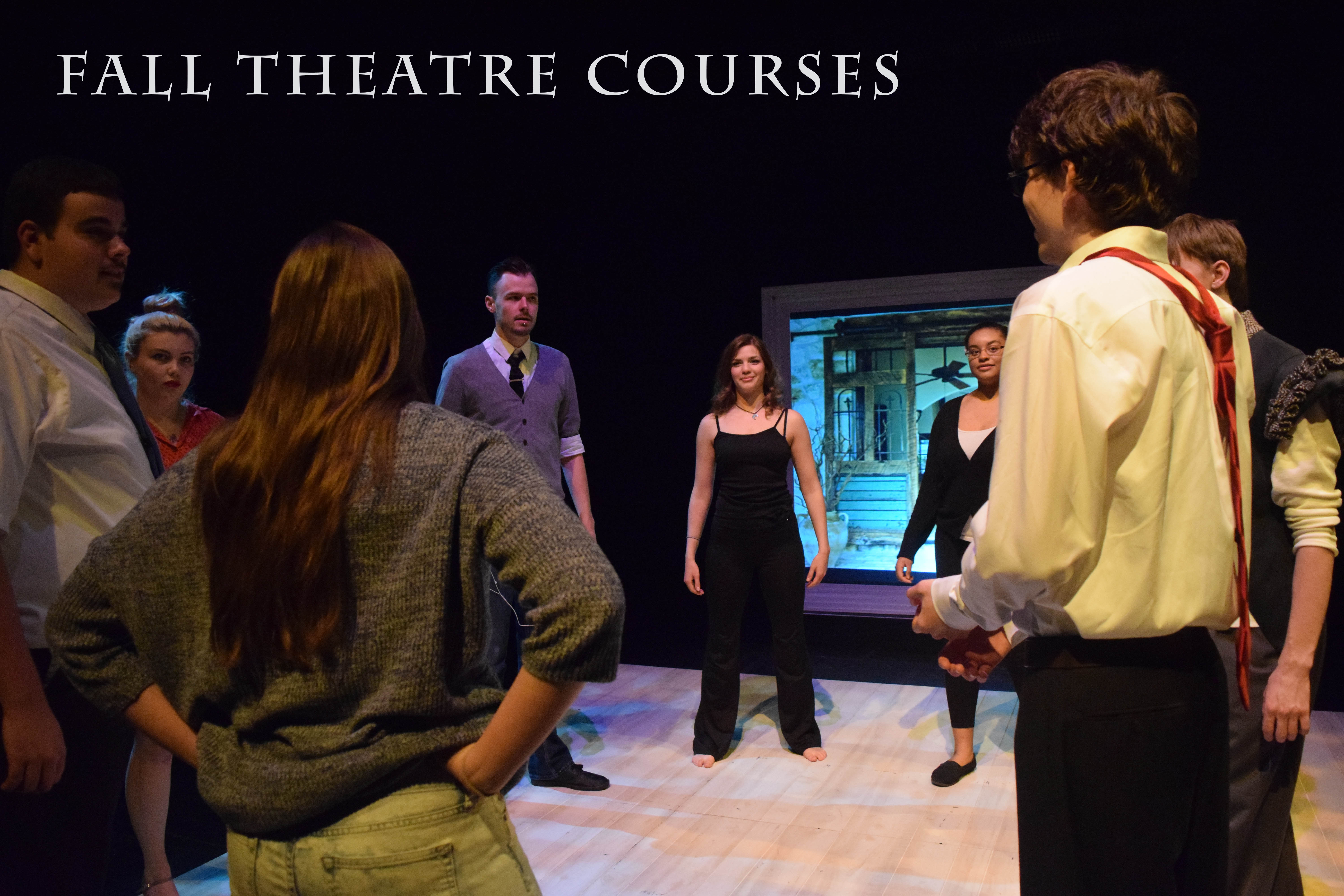University of Akron Theatre Fall Courses