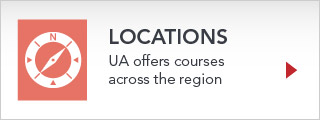The University of Akron locations across the region