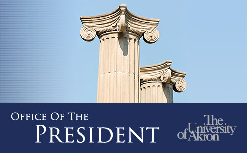 Office of the President | The University of Akron