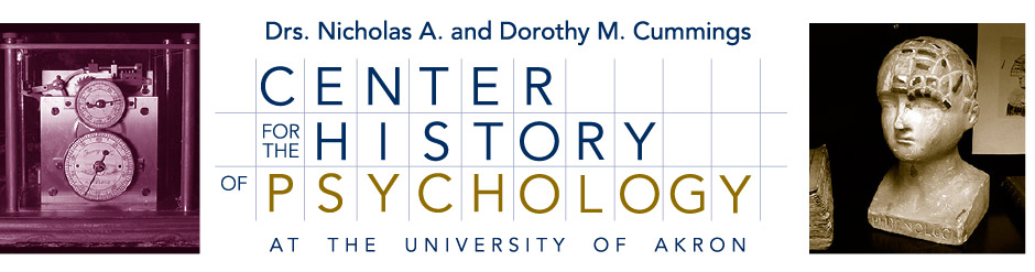 Nicholas and Dorothy Cummings Center for the History of Psychology