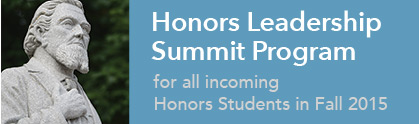 Honors Leadership Summit Program