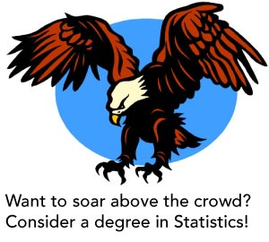 Consider a degree in statistics