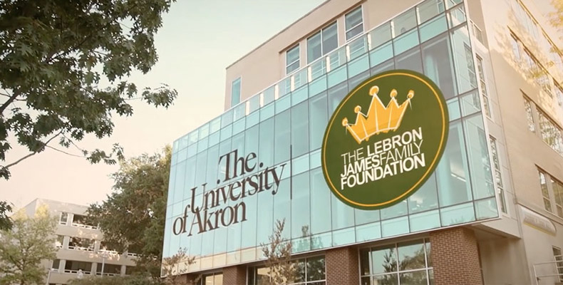Zook Hall at the The University of Akron's LeBron James Family Foundation College of Education
