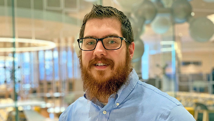 The University of Akron College of Engineering student success Clayton Reakes headshot