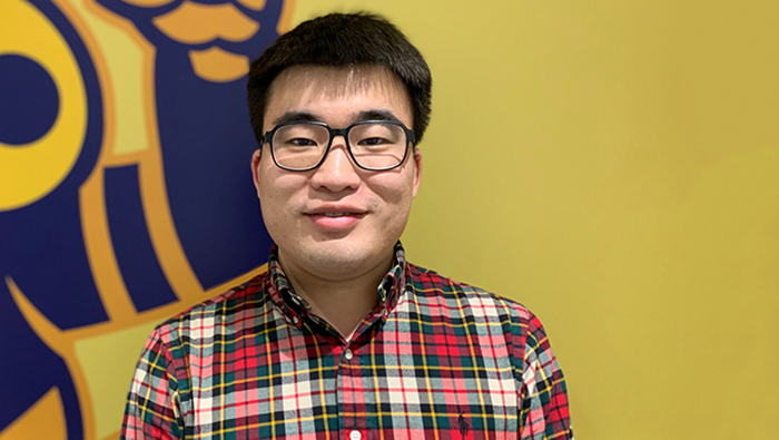 The University of Akron College of Engineering student success Yongqing Cai headshot