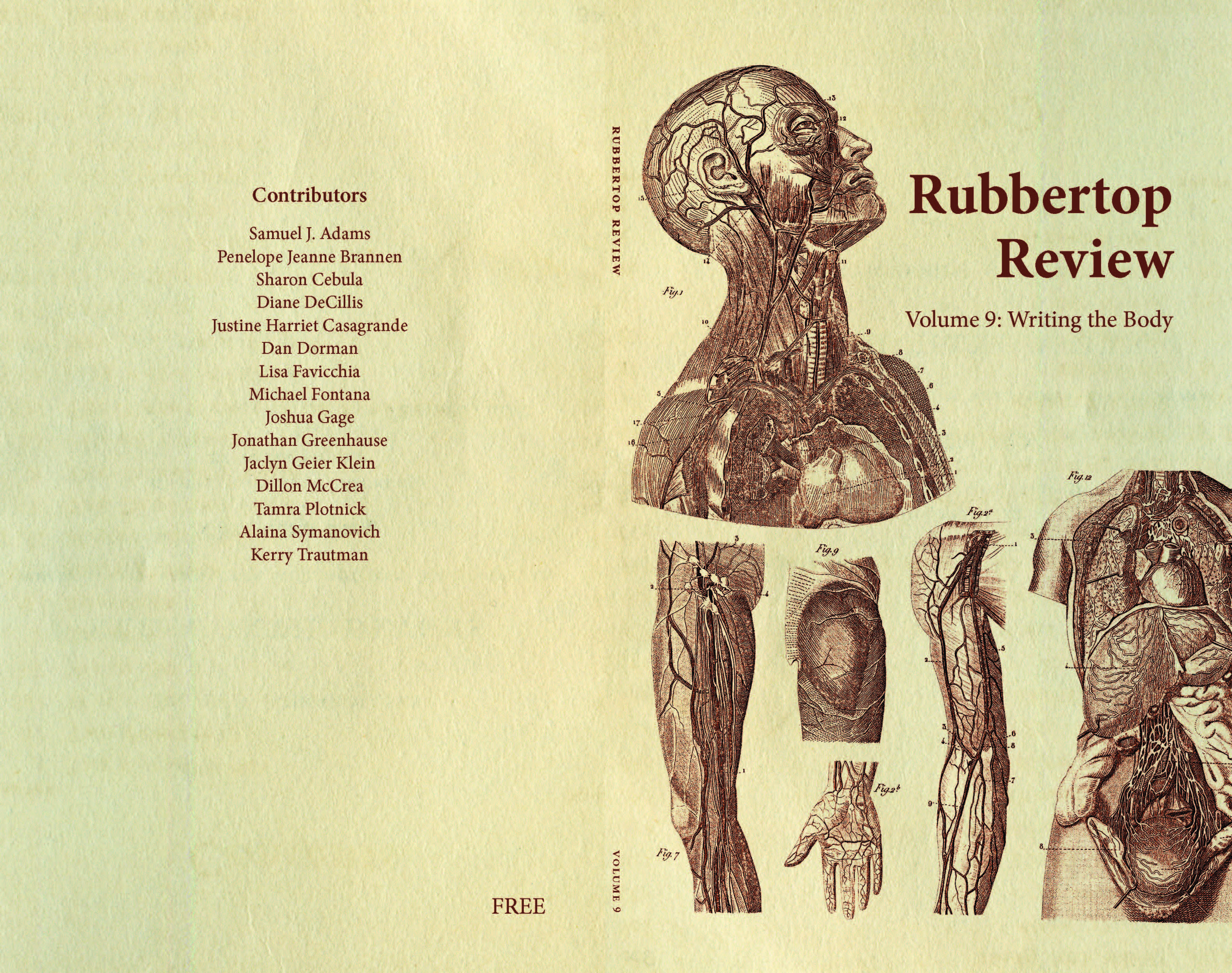 Rubbertop Review vol 9 cover