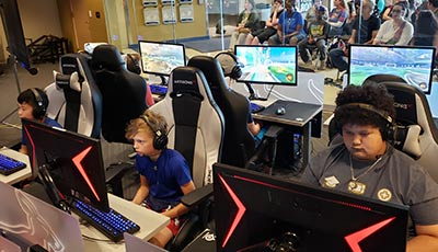 Esports Ohio summer camp for teens and school-age kids located in the midwest.