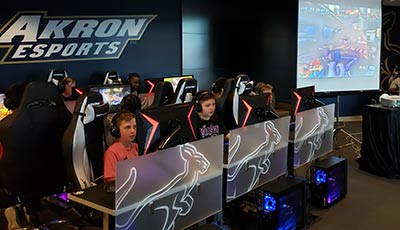 Esports gaming kids summer camp located in the midwest.