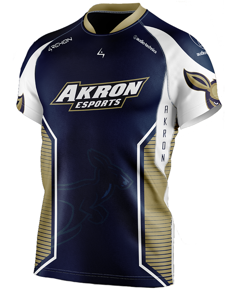Esports varsity jersey for The University of Akron