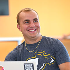 A student who received a scholarship to UA