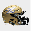 A Zips football helmet
