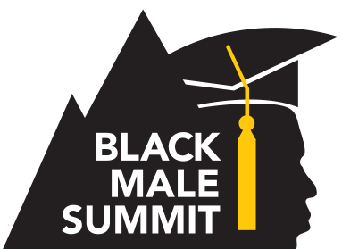 Logo for the Black Male Summit at The University of Akron