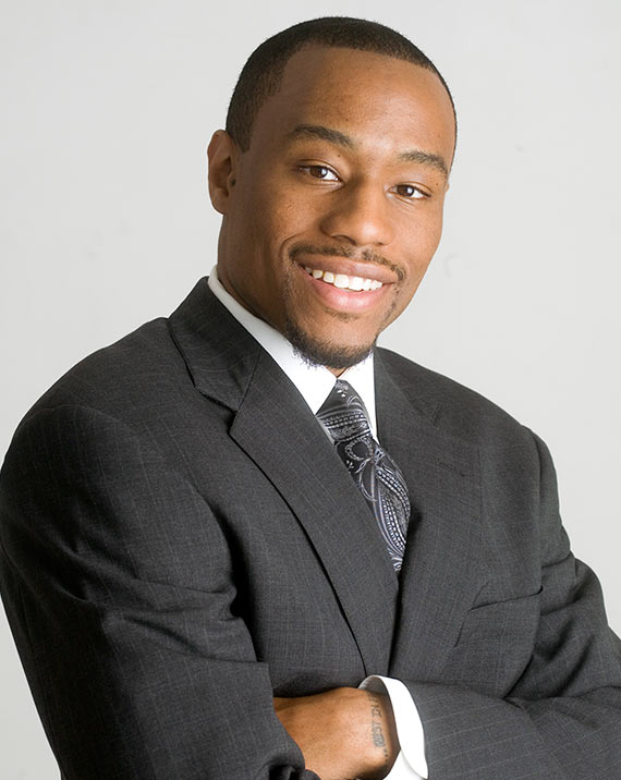 Dr. Marc Lamont Hill, a speaker at the 2020 Black Male Summit at The University of Akron