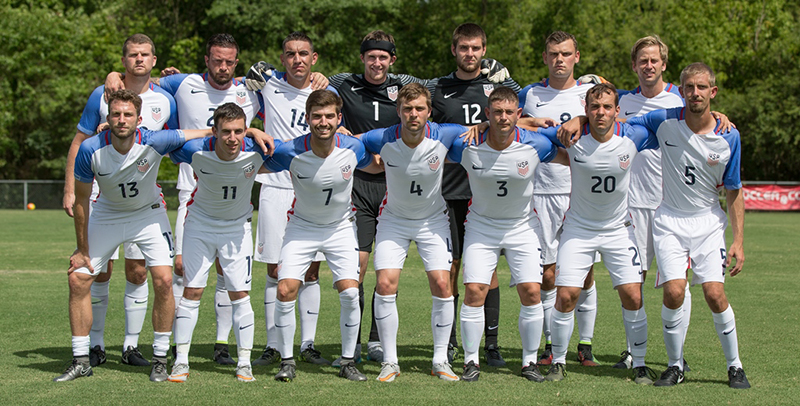 2016 U.S. Paralympic National Soccer Team