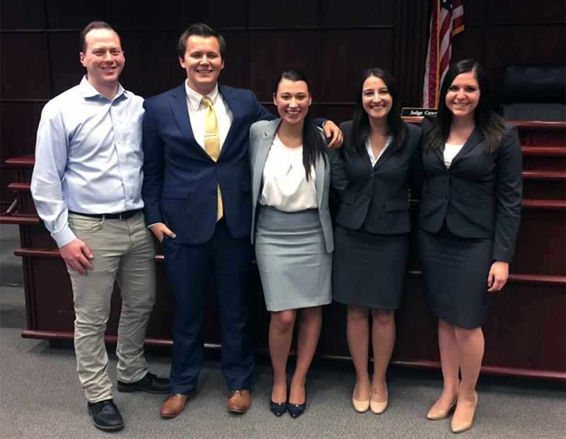 Mock-Trial-Team-winners-2018