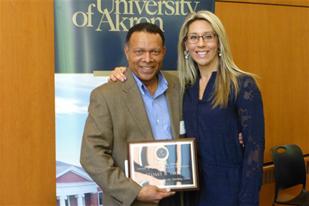 Stanley Smith and Dr. Stacy Willett