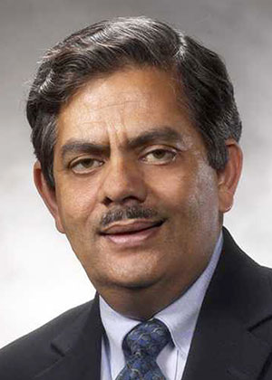 Dr. Chand Midha, interim executive vice president/chief academic officer