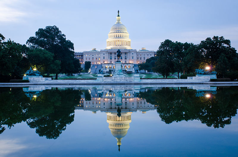The U.S. Capitol Building in Washington D.C.