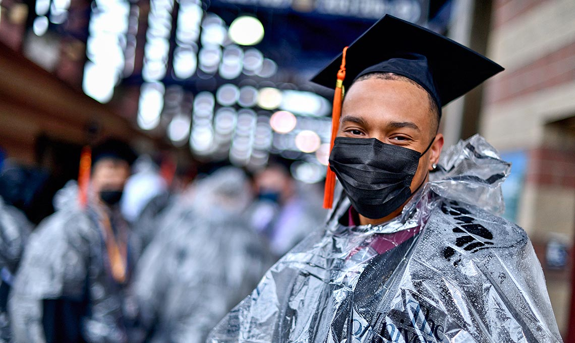2021 Commencement ceremonies at The University of Akron
