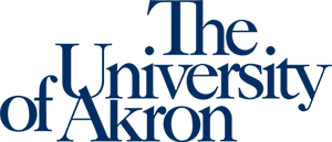 Wordmark for The University of Akron