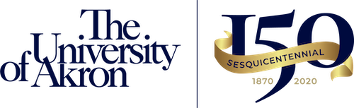 The sesquecentennial logo for the University, with a stylized 150.