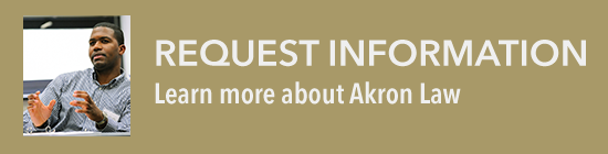 Request more information from Akron Law