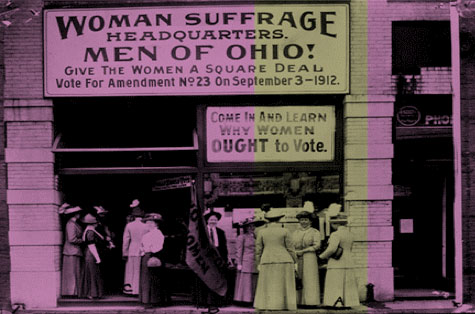 Women's suffrage movement in Ohio