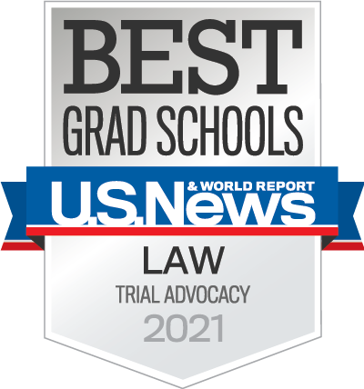 Trial advocacy at Akron Law honored by U.S. News and World Report